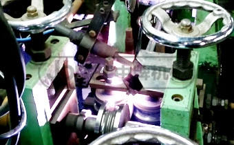 Stainless steel pipe machine video